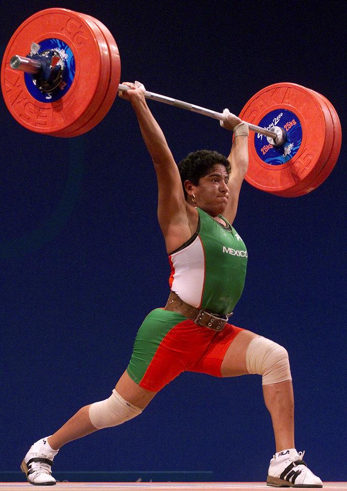 Soraya Jimenez of Mexico