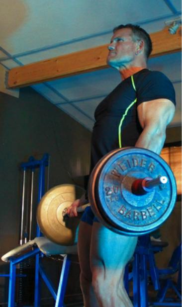 Sets weight training
