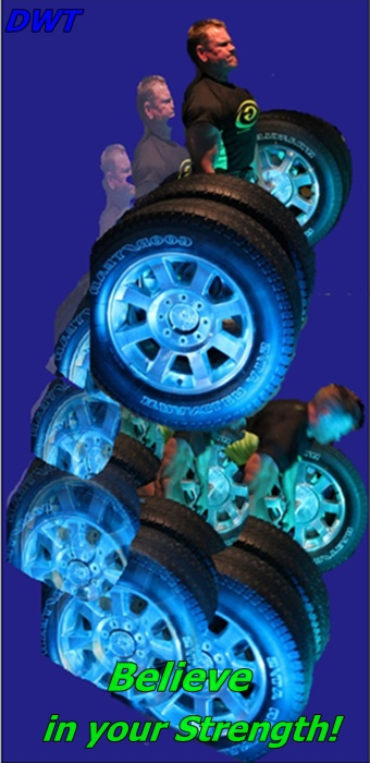 Dead lifting truck tires