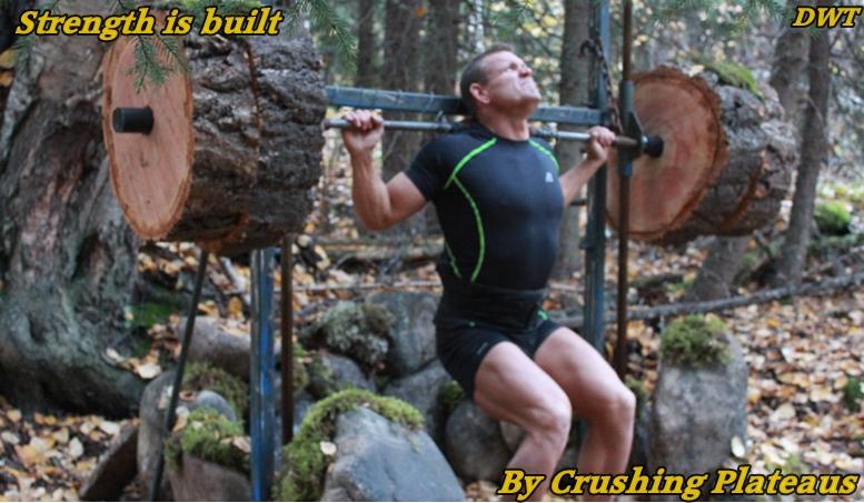 Rugged wilderness training