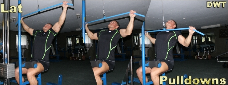 LAT pulldown's for over 50 lifters