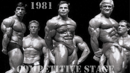 1981 Olympia stage