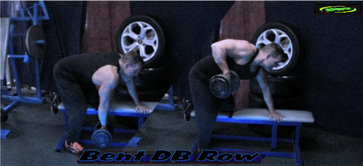 Alternating Dumbbell Rows