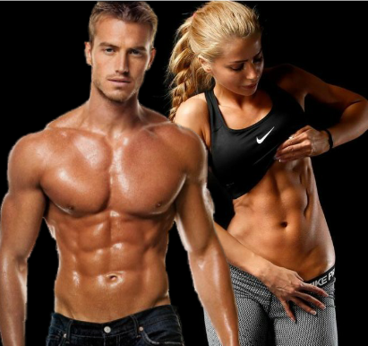 Ectomorph Male/Female body type