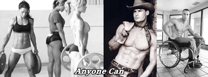 Anyone can be a bodybuilder