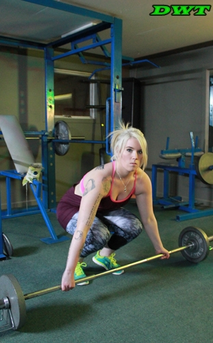 Barbells and women
