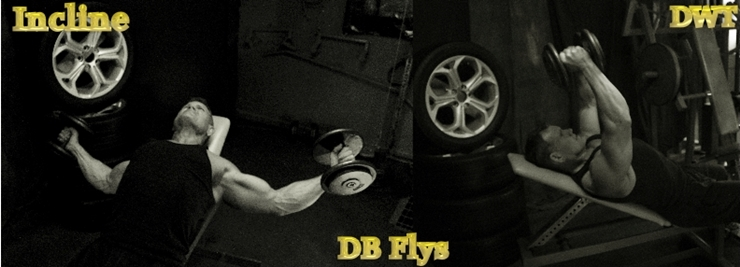Immediate dumbbell flies