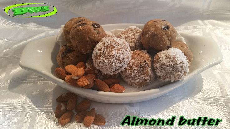 Protein balls almond