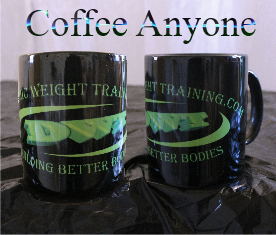 DWT, Black/Lime/logo coffee mug