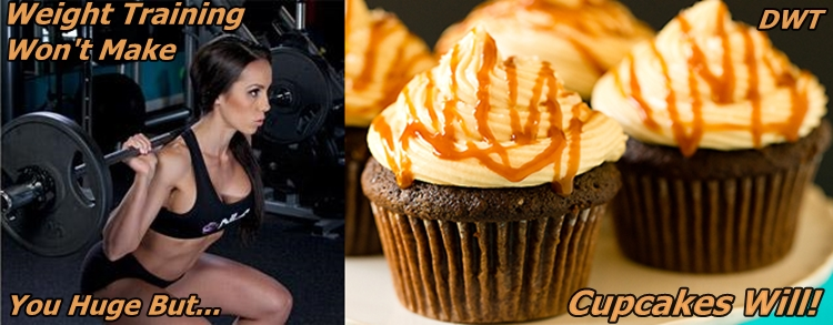 Cupcakes vs weight training