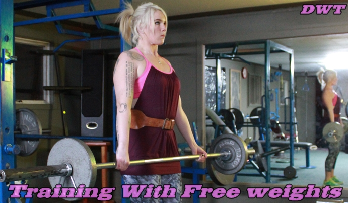 Free weight training for women