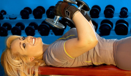 The benefits of weight training.