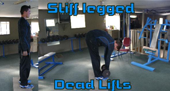 DB Dead lifts