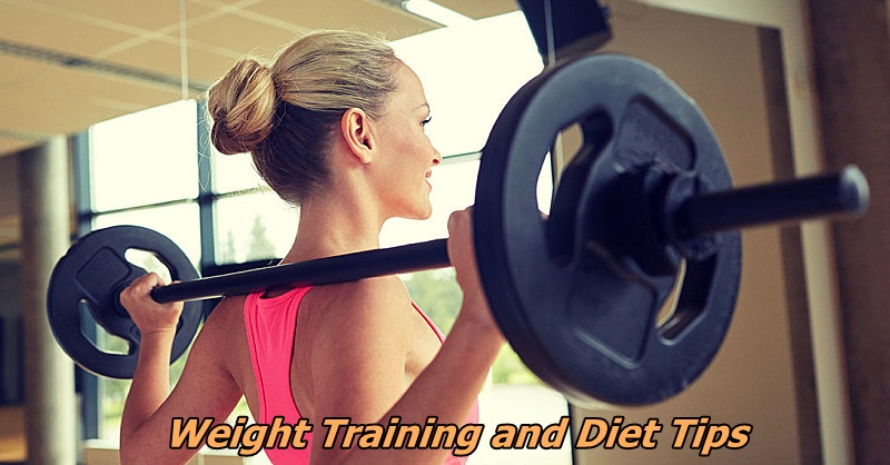 Weight training diet tips
