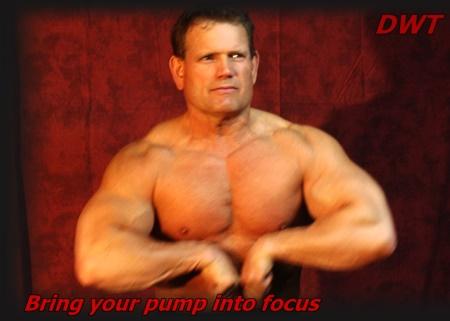 Posing the pump