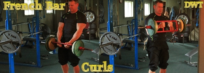 Intermediate French curl bar
