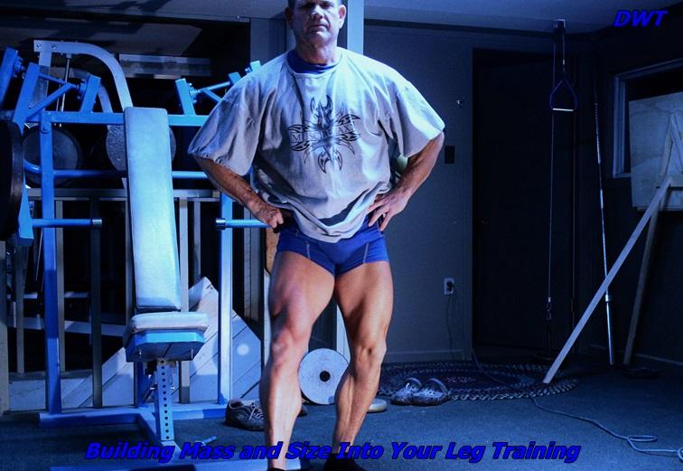 Building leg mass