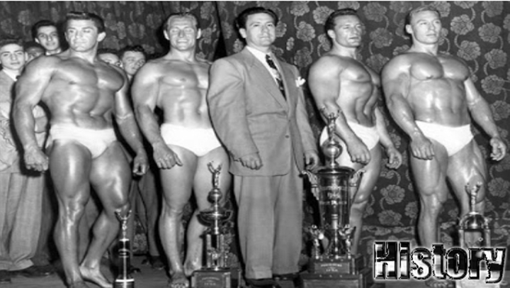 Bodybuilding history