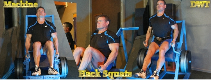 Intermediate hack squats