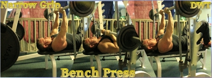 Intermediate narrow grip bench press