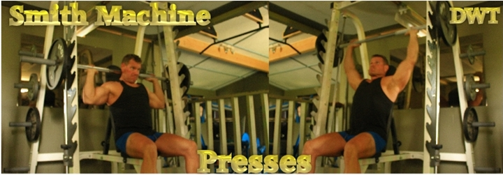 Intermediate behind the neck press
