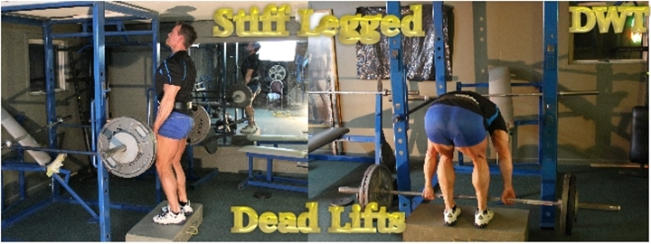 Intermediate barbell deadlifts