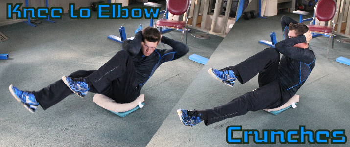 Knee to Elbow Ab Crunches