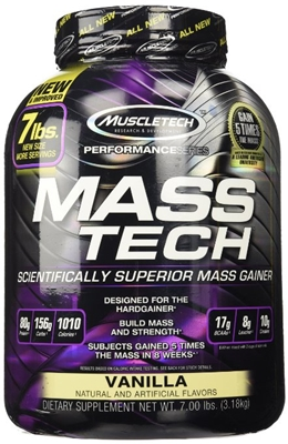 Mass Tech muscle performance