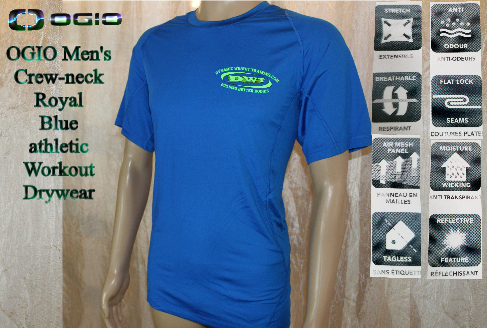 DWT, Blue neon Logo T-Shirts