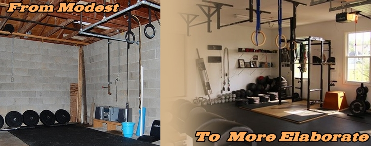 Home gyms weight training
