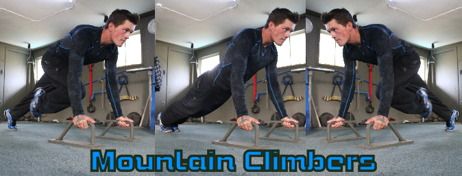 Mountain climbers AB exercise