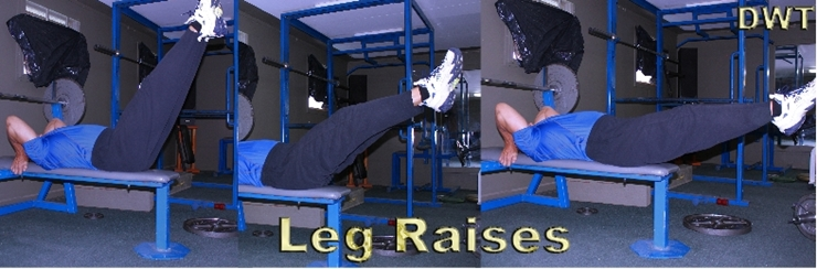 Leg raises in your 50s
