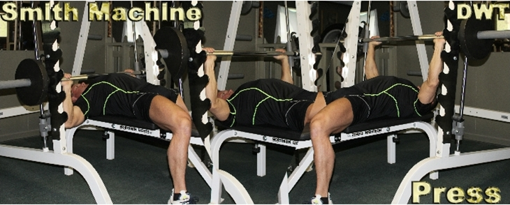 Bench machine press