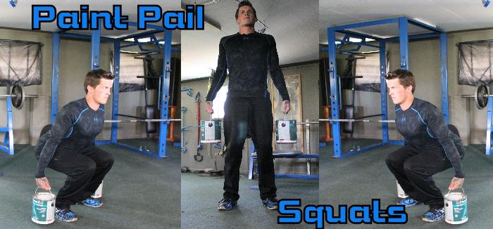 Paint Pail Squats