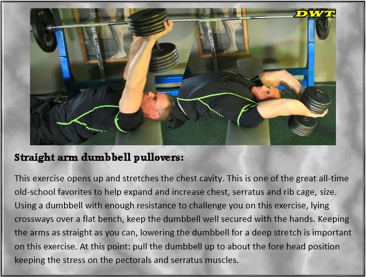 Dumbbell pullovers