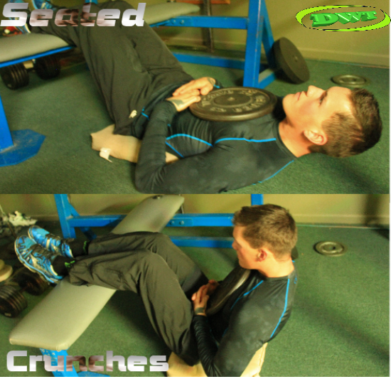 Abdominal Seated Crunches