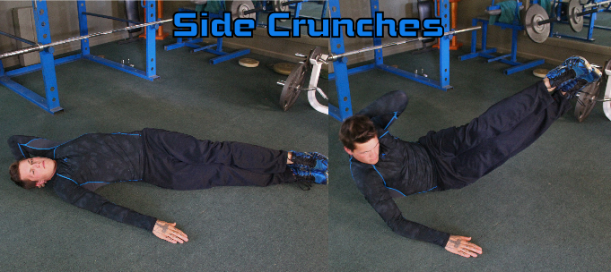 Lying Side Crunches