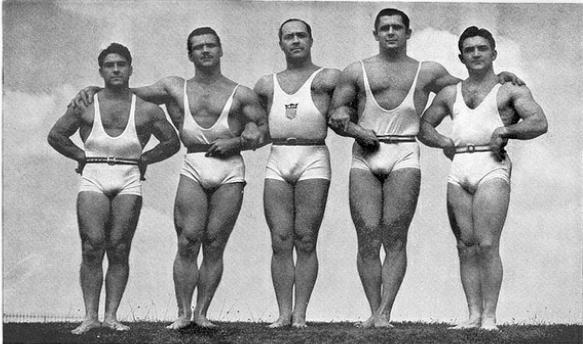 1940 York Weightlifting Team