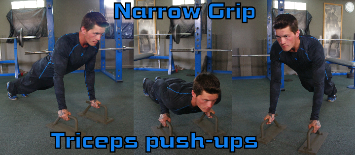 Triceps Push-ups