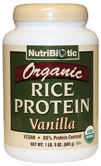 Nutribiotic organic rice protein