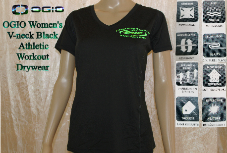DWT Logo, Women's Black T-Shirts