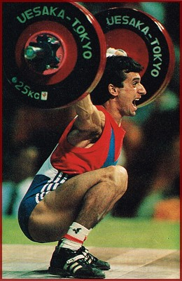 Olympic power lifter