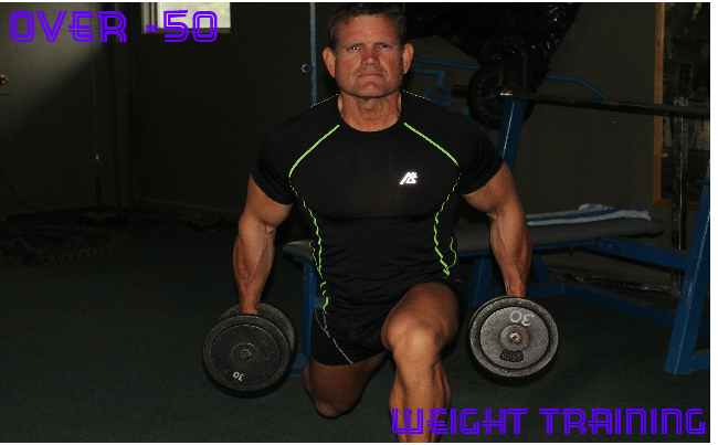 Weight training at 50 years