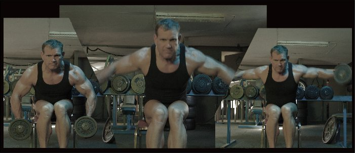 Seated dumbbell laterals