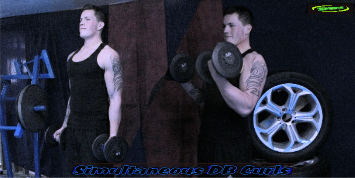 Simultaneous Dumbbell Curls