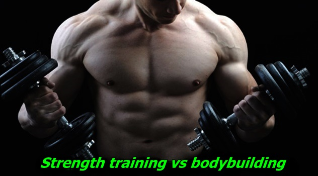 Strength training vs bodybuilding